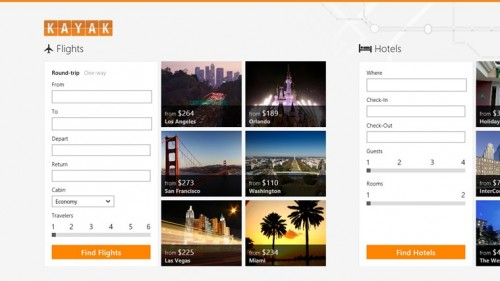 Techieapps-Windows8-App-design-KAYAK Flights & Hotels