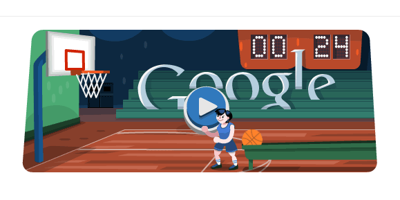 Techieapps-Google-Doodle-London-Olympics-Basketball