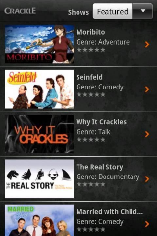 TechieApps-Crackle-android-app