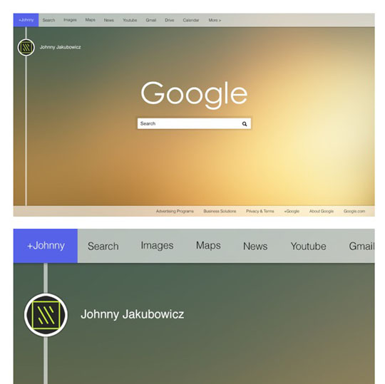 1. Google Homepage Redesign-UI-UX