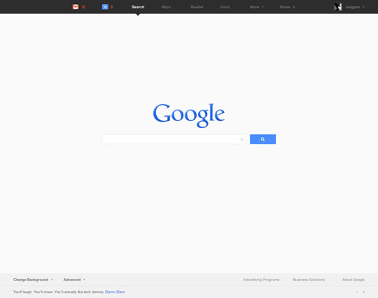 1. Google Product Redesign