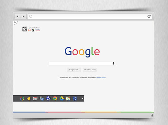 3. Google Redesign Concept-Freebie