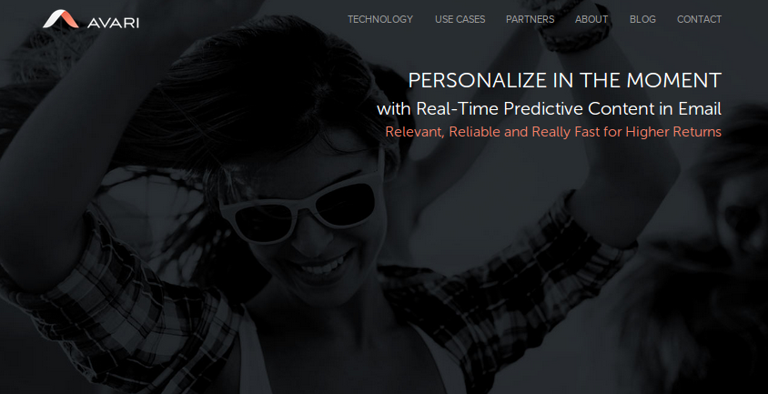 AVARI   Enabling In The Moment Email Personalization