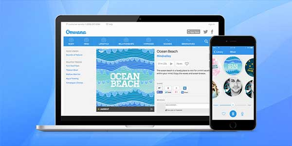 Omvana - Meditation app