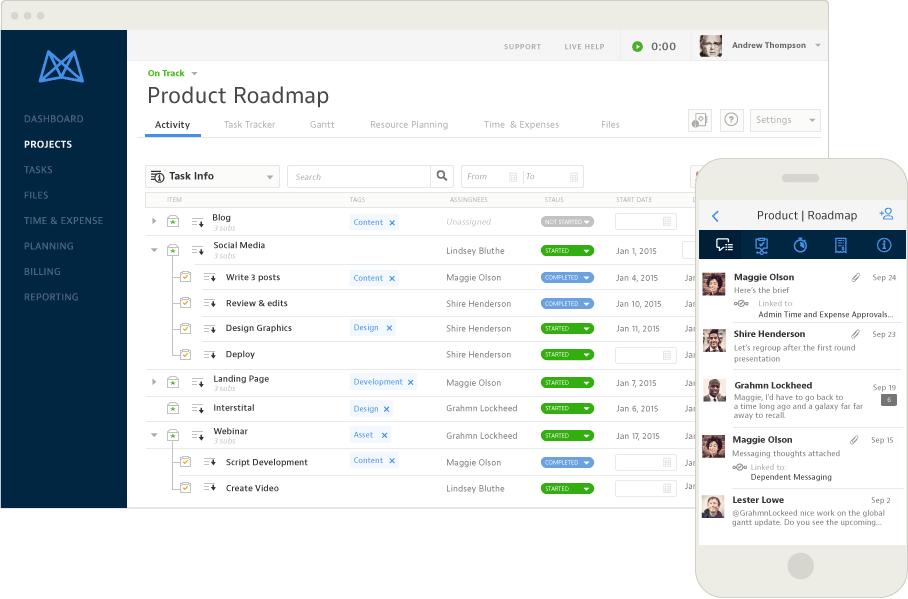 Mavenlink - Web-based Tasks Manager
