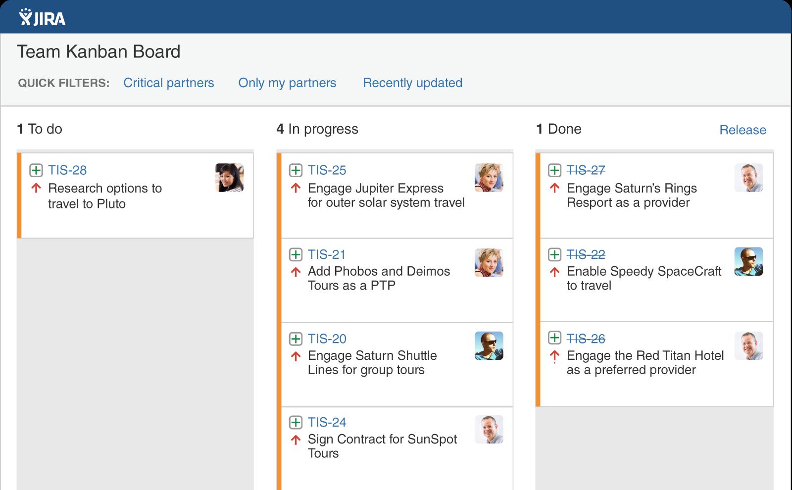 Jira - Web-based Tasks Manager