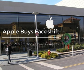 apple buys faceshift star wars motion capture company
