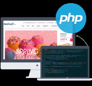 php for website development