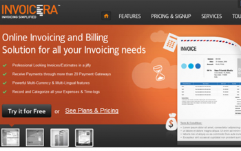 Best Online Time Tracking Software-Invoicera