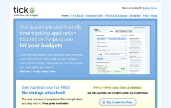 Best Online Time Tracking Software-Tick