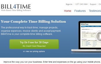 Best Online Time Tracking Software-Bill4tim