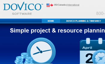 Best Online Time Tracking Software-Dovico