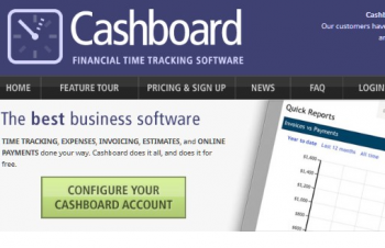 Best Online Time Tracking Software-Cashboard