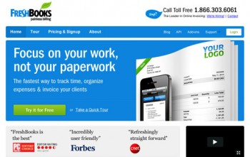 Best Online Time Tracking Software-Freshbooks