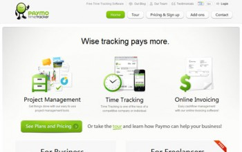 Best Online Time Tracking Software-Paymo