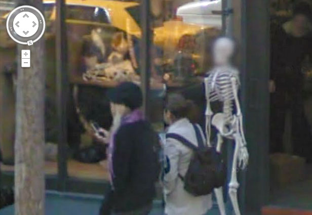TechieApps-Google Earth and Google Street View pics-An Example that Google Respects Everyone's  Privacy