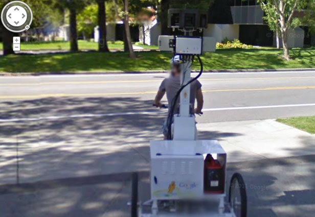 TechieApps-Google Earth and Google Street View pics-Google Environmental Friendly Act