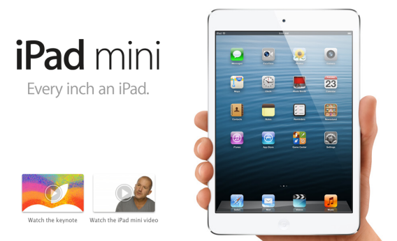 TechieApps-Apple's iPad Mini Launched to Show you Little More - Reviews-iPad Mini