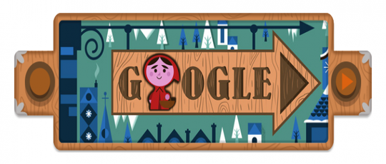 Techieapps-Google-Doodle-200th-Anniversary-of-Grimm-Fairy-Tales