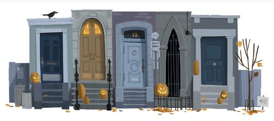 Techieapps-Google-Doodle-halloween