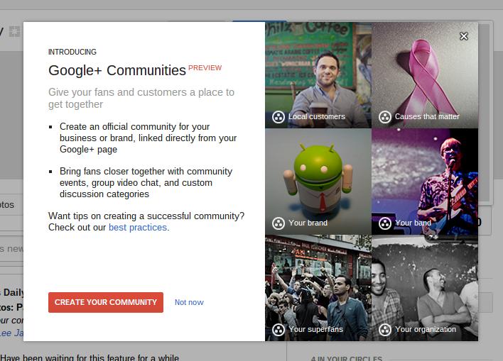 Techieapps_google_plus_pages_communities