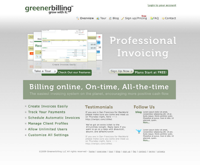 greener billing