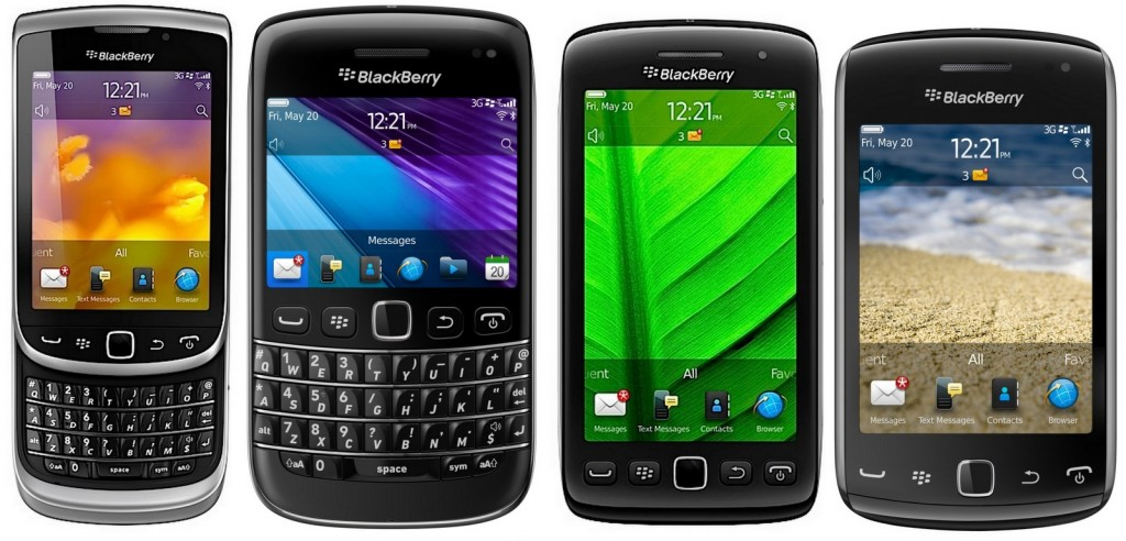From And Over: BlackBerry no Smartphones More Manufactures