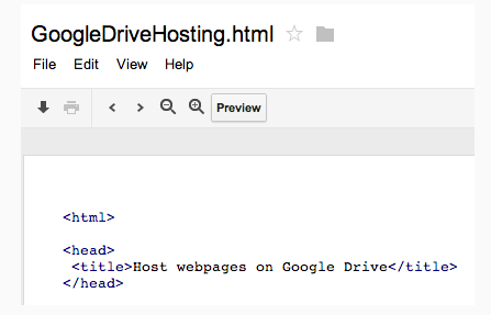 Techieapps-Google-Drive-Website-Hosting