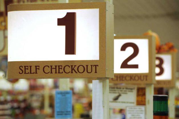 Self checkout counters