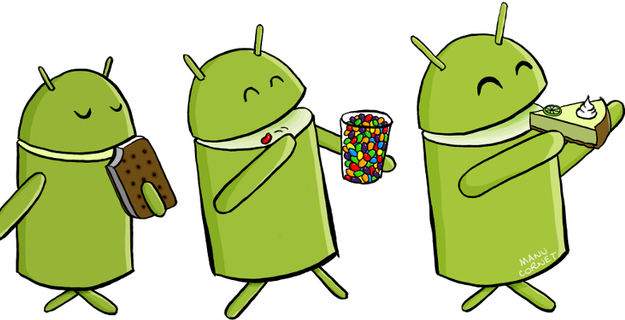 Android 4.3 or 5.0