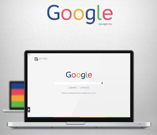 1. Google – Redesign Concept + Freebie
