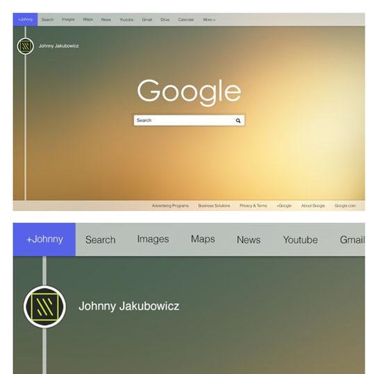 1. Google Homepage Redesign-UI-UX