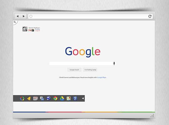 3. Google Redesign Concept-Freebie