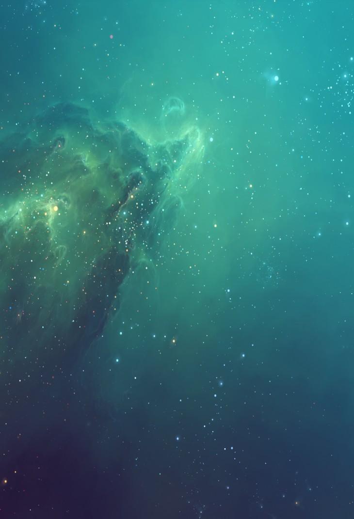 ios 7 nebula wallpaper hd - photo #24