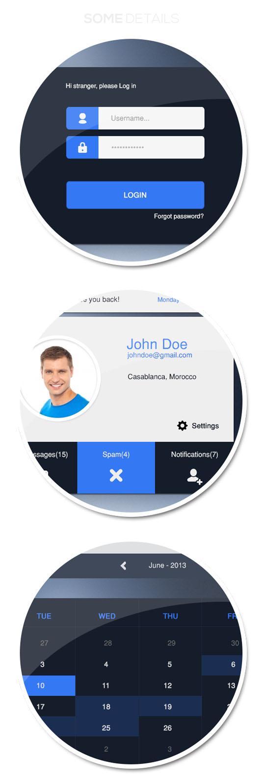 6. Google Mail-UI Design