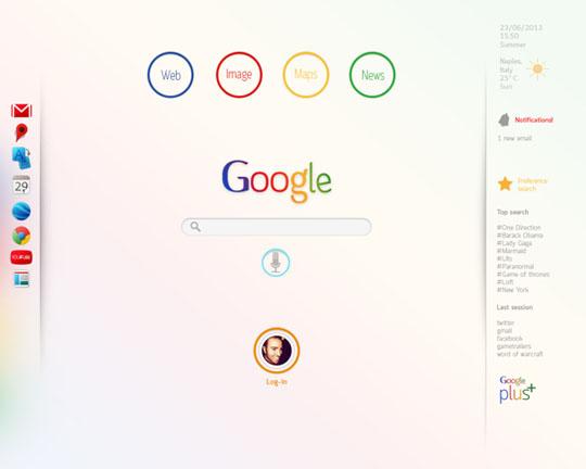 7. Google Redesign
