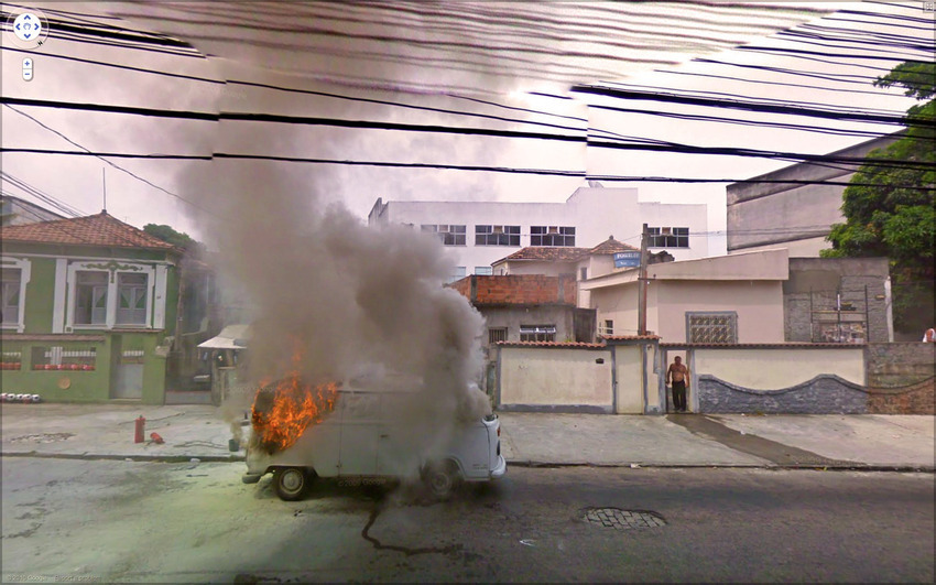 17. This Van on Fire