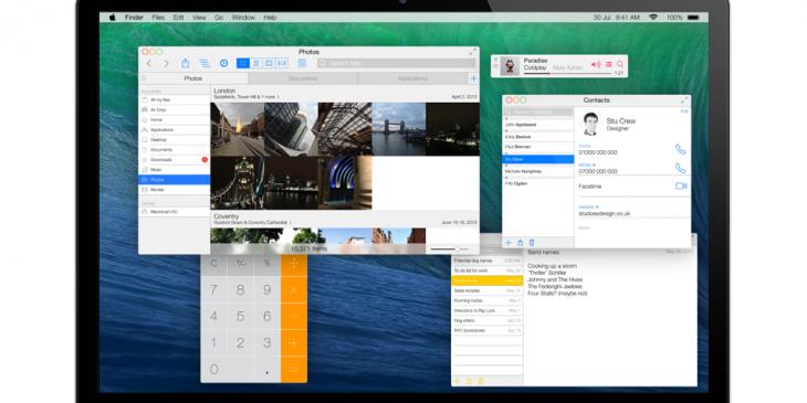 2. OS X Ivericks by Stu Crew