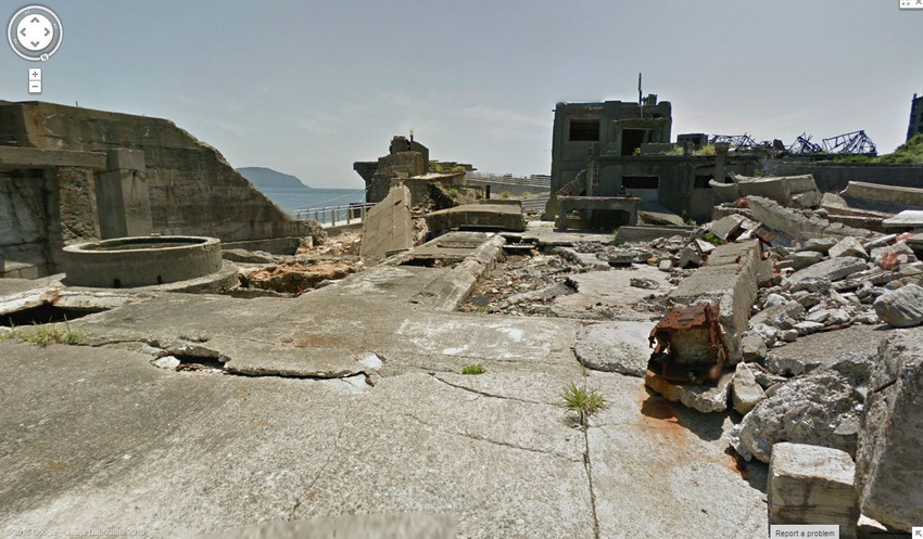 20. A Japanese Ghost Town