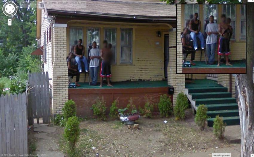 Detroit Resident Threatening Google