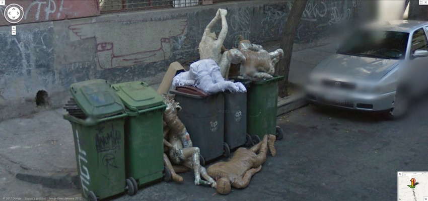 Dead Bodies in a Dumpster