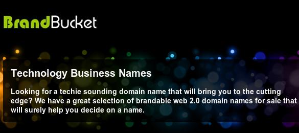 Unique Business Names