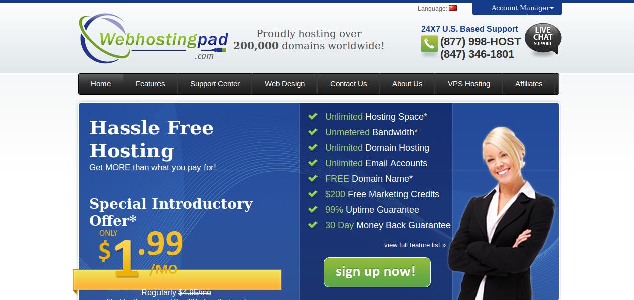 WebHostingPad
