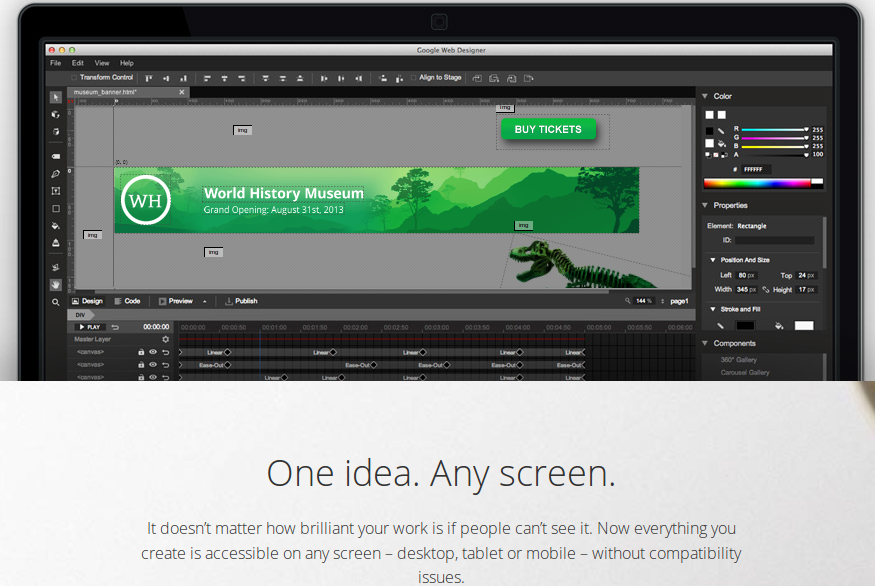 Google-HTML5-web-designer
