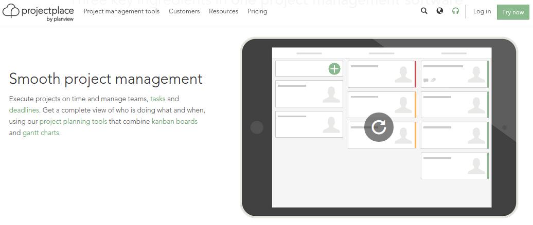 Online project management software   Projectplace