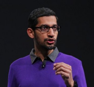 sundar pichai google new CEO