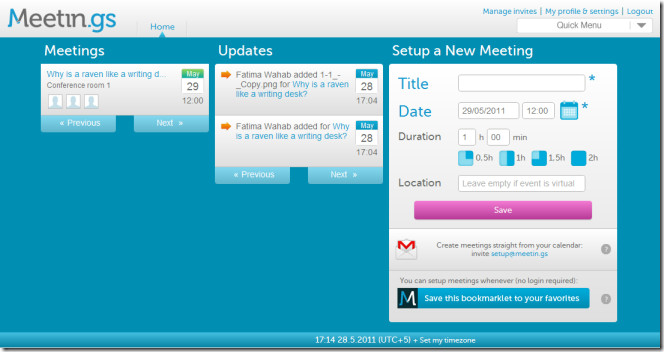 Online Meeting Tool
