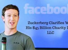 zuckerberg billion charity LLC