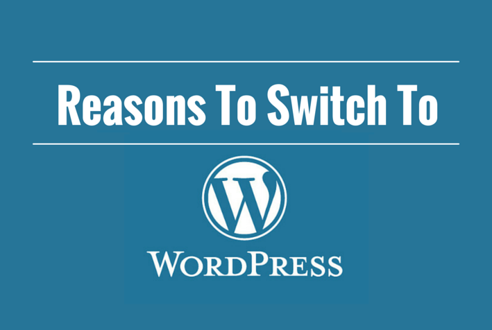 Switch to WordPress