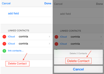 delete contacts on iphone how to remove and merge duplicate contacts in iphone 8014